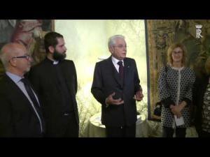 Embedded thumbnail for Intervento del Presidente Mattarella sulla legalità